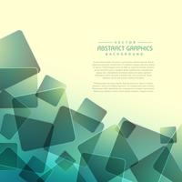 abstract background with random square shapes