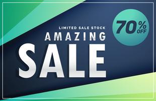 amazing sale banner discount voucher design template