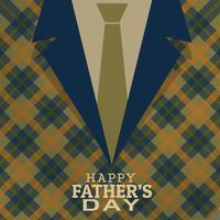 gelukkige vaders dag kaart groet