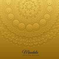 ethnic mandala art decoration background