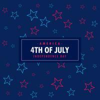 4 de julho de fundo
