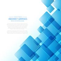 abstract background with blue square shapes