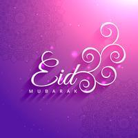 eid mubarak heilige festivalgroet