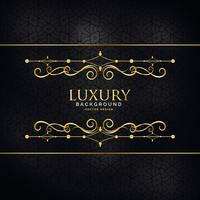 premium luxury invitation background with golden design decorati