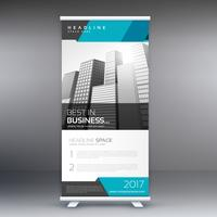 modern roll up banner design template