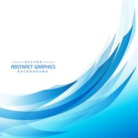blauer abstrakter Wellenhintergrund