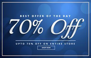 discount voucher poster template background with offer details