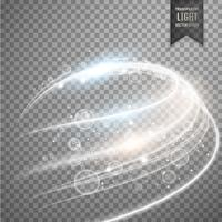 light effect awesome design vector
