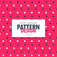 cute red blue and white polka circles pattern dots background