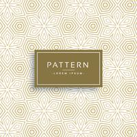golden texture pattern in line flower style