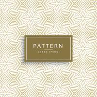 golden texture pattern in line flower style