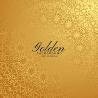 golden premium background with pattern design