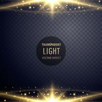 destellos brillantes efecto de luz efecto brillante