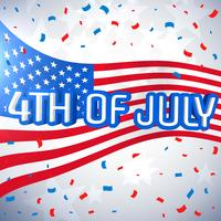 Fondo de celebración del 4 de julio.