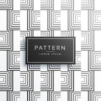 línea geométrica creativa vector patrón