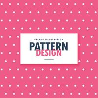 pink polka style dots background