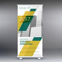 corporate business roll up banner design for presentation