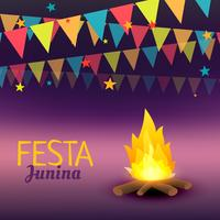 festa junina celebration illustration