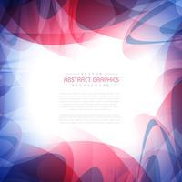 cadre de fond avec des formes abstraites colorées