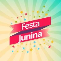Fondo de celebración de fiesta de fiesta junina