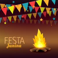 festa junina brazil semester illustration