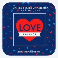 love america celebration background