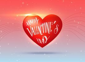 Valentijnsdag creatief ontwerp vector