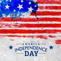 grunge Amerikaanse vlag achtergrond