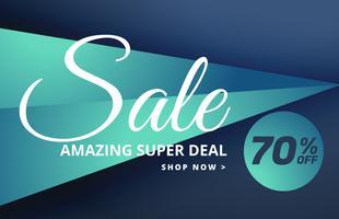 modern försäljning banner design med erbjudanden detaljer