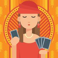 Fortune Teller Illustration