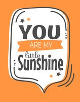 Sweet Little Sunshine Wall Art Poster