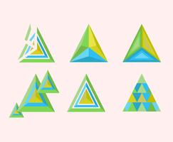 Prism Shapes Vector