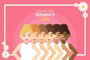 International Women's Day Vector