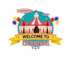 Carnival Poster Template Vector