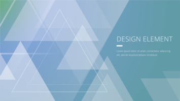 Abstract Prism Corporate Banner Template
