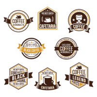 Koffie Badge