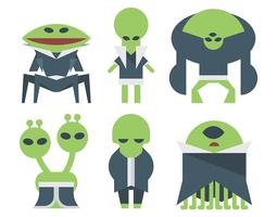 martian vector set
