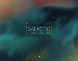 Ultra Violet Galactic Vector Background