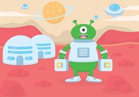 Martian vector