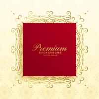 conception de cartes de fond de luxe premium royal