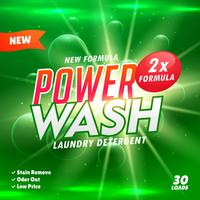 bathroom cleaning and laundry detergent product designing templa