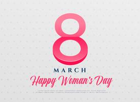 elegant women's day international celebration background