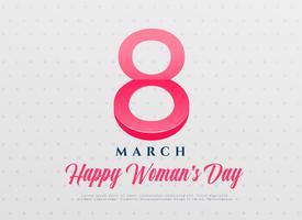 fundo de celebração internacional de dia elegante feminino