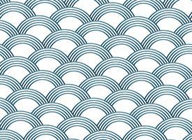 modèle de vecteur de style abstrait sashiko