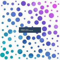 colorful abstract dots pattern background