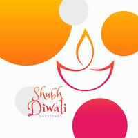 modern diwali festival colorful background
