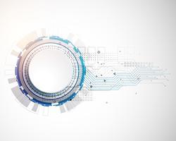 futuristisk teknik innovativ koncept krets bakgrund