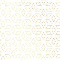 diamantform guldmönster vektor bakgrund