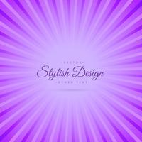 fond abstrait violet avec des rayons