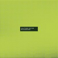 fond vert avec des points de demi-teintes